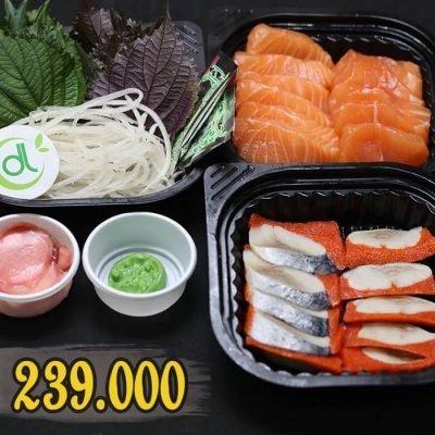 Set sashimi 3