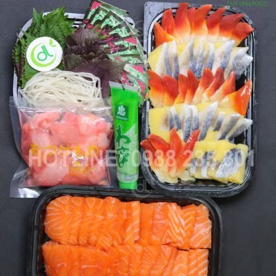 set sashimi 8