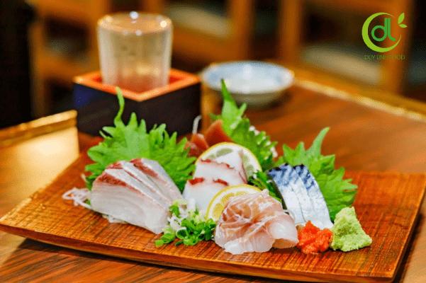 Sashimi cá cam ngon
