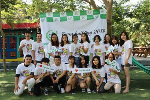 Đội ngũ nhân viên Duy Linh Food