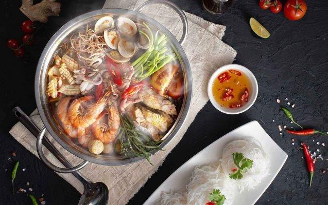 Nước súp lẩu kim chi Nhật