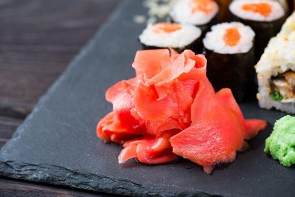 Gừng hồng Nhật mini chuyên dùng cho sashimi, sushi