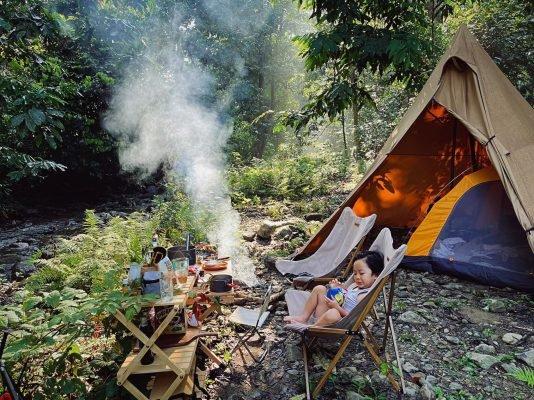 Những đồ nấu ăn không thể thiếu khi đi cắm trại