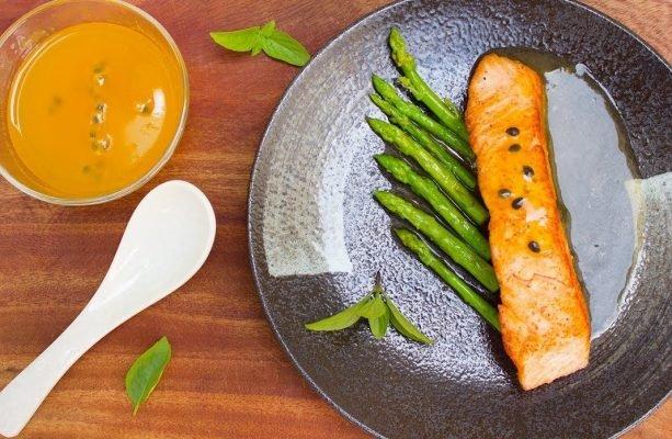Phần sốt chanh leo tươi có sẵn tại Duy Linh Food